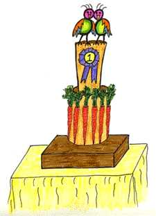 24 Carrot Award Trophy