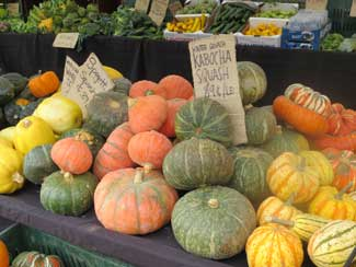 Autry Farmers' Market Squashes