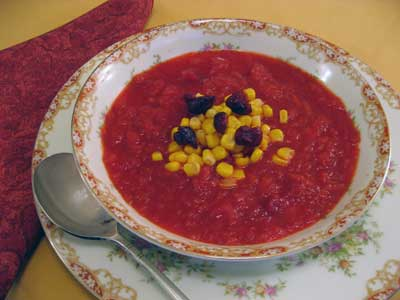 Butternut Squash, Beet, & Apple Soup