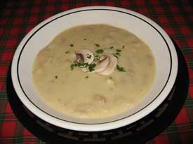 Celery Root Chowder