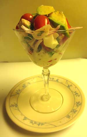 Vegan Marinated Jackfruit Ceviche