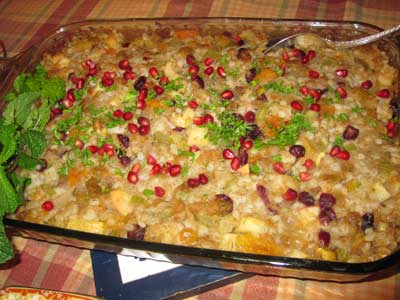 Savory Chestnut and Fruit Stuffing