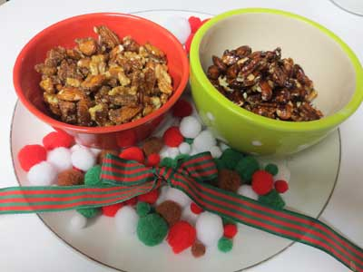 Christmas Nut Treats