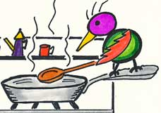 Bird Cooking