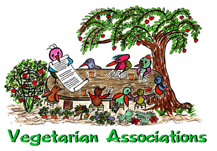 Vegetarian Associations, Organizations, Societies