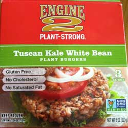 Engine 2 Tuscan White Bean Burger