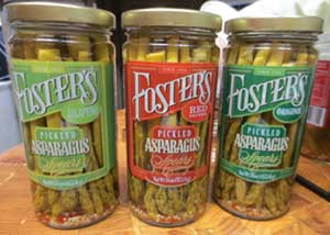 Foster's Pickled Asparagus