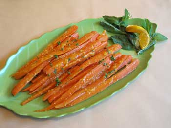Ginger-Glazed Carrots