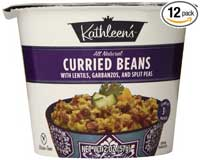 Kathleen's Curried Beans with Lentils, Garbanzos, and Split Peas