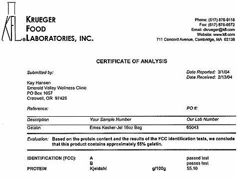 Krueger Laboratory Report