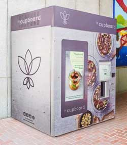 leCupboard Vegan Vending Machine