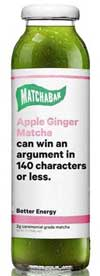 Matchabar Apple Ginger Matcha