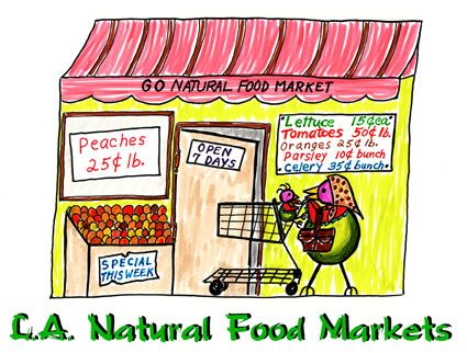 Natural Food Markets Los Angeles County