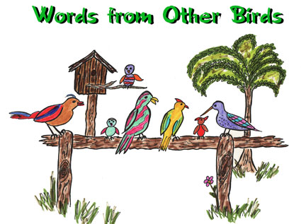 Words from Other Birds Archive
