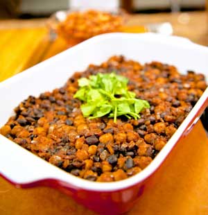Oven-Baked Two-Bean Chili