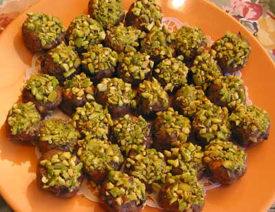 Pistachio Bonbons Recipe — Dishmaps
