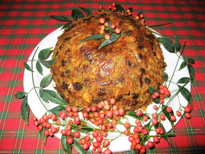 Victorian Plum Pudding