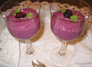 Rice Berry Pudding