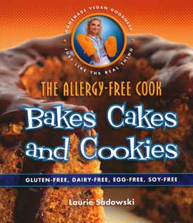 Allergy-Free Cook Bakes Cakes and Cookies