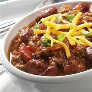 Back to School Three Bean Chili
