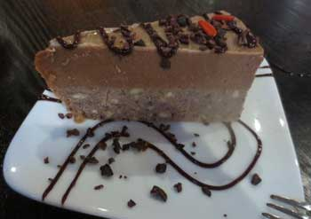 SunCafe Cookie Dough Cheesecake
