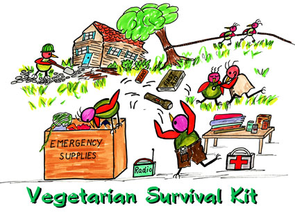 Vegetarian Survival Kit