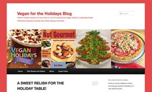 Vegan for the Holidays Blog Logo