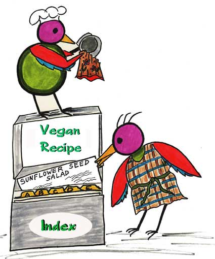 Vegan Recipe Index