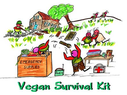 Vegan Survival Kit