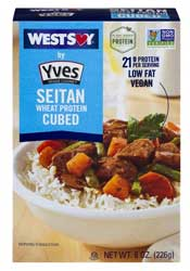 Westsoy by Yves Seitan Wheat Protein Cubed
