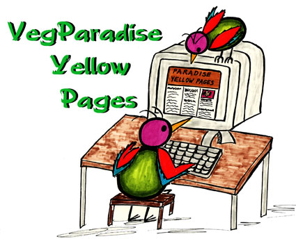 Los Angeles Vegetarian Yellow Pages