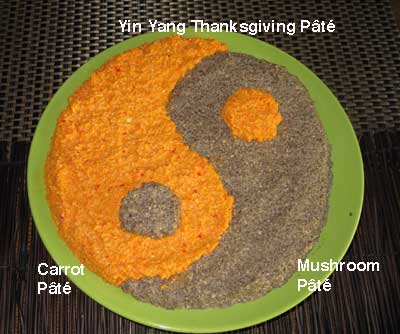 Yin Yang Thanksgiving Pate